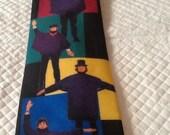 Vintage RALPH MARLIN Tie The Beatles Tie USA Help Vertical
