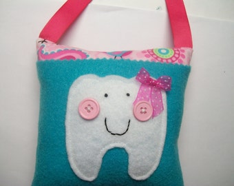 Girls Tooth Fairy Pillow Owls