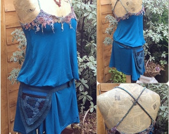 Fairy Dress, Psy Pixie Dress, Small