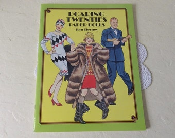 Paper Doll Booklet, ROARING TWENTIES, Tom Tierney, 1992. Uncut