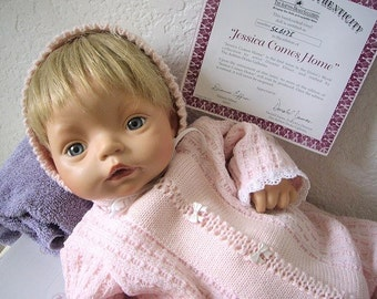 Jessica Comes Home, Ashton Drake Doll by Dianna Effner. 1st in a Series