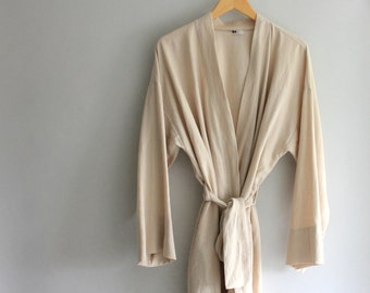 Handmade Linen Robe - Choose your color