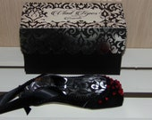Vlad Tepes from Dracula, Paper Pointe Shoe Sculpture, One of a Kind, READY TO SHIP