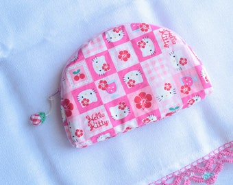 Hello Kitty Cosmetic case Clutch Purse Bag Hello Kitty pouch