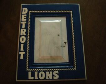 Detroit Lions Football Team Sports Plaque