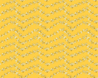 French Hen - Grow Yellow by Molly Hatch for Blend Fabrics
