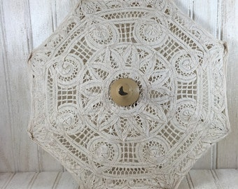 Vintage Lace Plate Cover