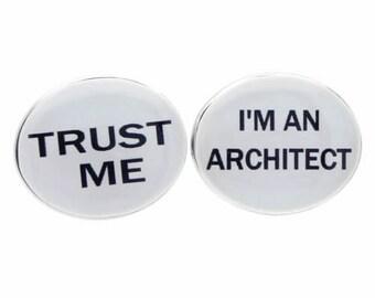 Trust Me I'm an Architect Cufflinks