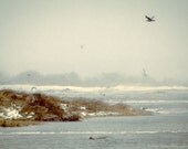 CAPE COD Photography ~ Stormy Atlantic Ocean New England Travel Town Neck Beach Sandwich MASSACHUSETTS Coastal Liz Thomas