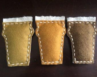 craft beer catnip toys (set of 3)