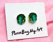 Old Gregg Stud Earrings The Mighty Boosh