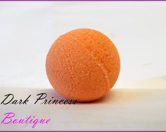 Orange scented bath bombs
