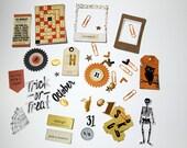 Crate Paper | Die Cut Ephemera | Halloween After Dark