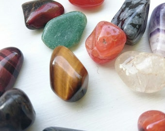 Lovely group of polished stones