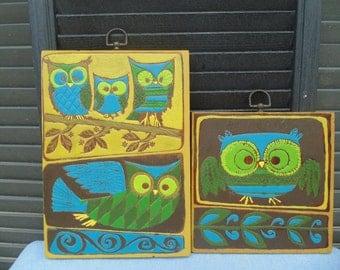 Whooo Loves Vintage Owls!?