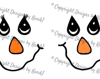 Scarecrow Faces Boy and Girl no stitches on mouth SVG Halloween SVG File  digital cut file Scarecrow svg - Instant Download