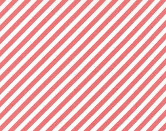Little Miss Sunshine by Lella Boutique - Candy Stripe in Berry (5026-24) - Moda - 1 Yard