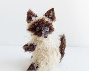Vintage Tiny Raccoon, Made in Japan