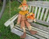 Scarecrow, REDUCED PRICE, FALL, Primitive, Sam, ATGCele