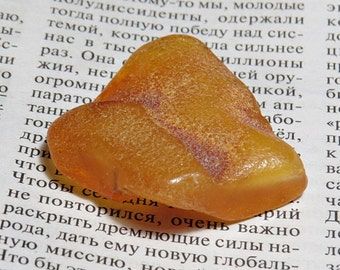 Raw Amber Piece From the Baltic Sea, 100% Baltic amber, natural amber 9,5gr.