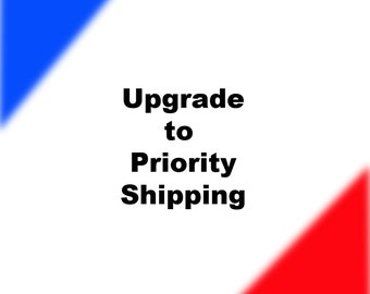 Upgrade to priority shipping for US orders in small fixed rate box