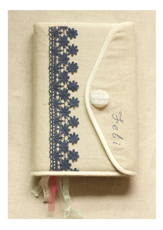 Book Cover Sewing Kits : Fabric sewing kit bible cover hobonichi journal
