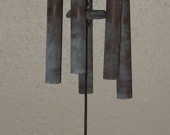 Mid-Century Wind Chimes - Vintage Chimes - Country - Rustic - FREE SHIPPING!