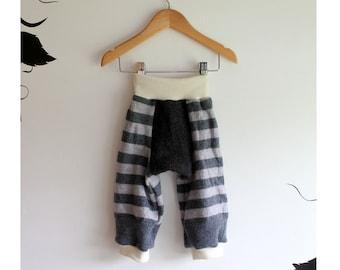 Merino longies wool diaper cover long John's
