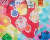 Mickey Mouse bandanna bib hipster Disney baby  BY Felices Happy Designs