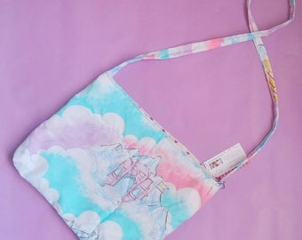 SheRa pink purse upcycled vintage style tote bag