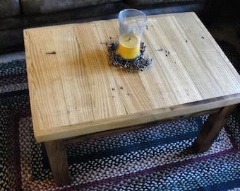 Chestnut & Oak Coffee Table