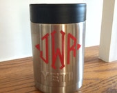 Yeti Colster triple insulated  personalized with initial, name, or monogram