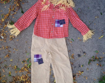 Scarecrow Costume size 18-24 months