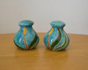 Eduardo Vega Ceramic Salt & Pepper Shakers