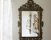 Vintage Ornate Burwood Mirror