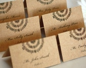 Music Note Escort Cards, Music Place Cards, Music Wedding, DEPOSIT