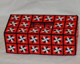 Snowflake Pattern Kleenix Box