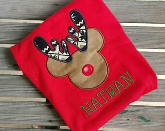 Reindeer Christmas Mickey Mouse Disney Shirt