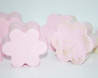 Bubble Gum Flower Loofah & Soap Set