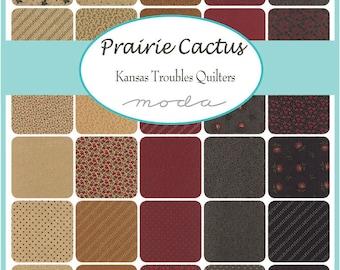 PRAIRIE CACTUS - Fat Quarter Bundle - Kansas Troubles Quilters for Moda Fabrics - 31 FQs