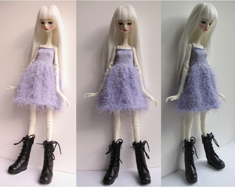 Doll-Chateau KID: Knitted Strappy Full-Skirted Dress