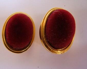 Claude Montana earrings