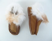 Kids Leather slippers/Fur slippers/Napa slippers/ Greek leather slippers/Childrens leather slippers/Sheep skin slippers/childrens slippers