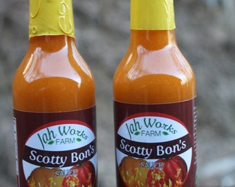 Jah Works Farm  Scotty Bon's Pepper Sauce