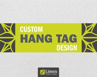 Custom Hang Tag Design - Clothing Hang Tag Design
