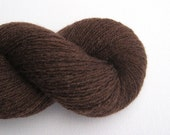 Lace Weight Recycled Cashmere Yarn, Chocolate Brown, 680 Yards, Lot 050616