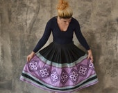 Hopi Quilted Circle Skirt size M