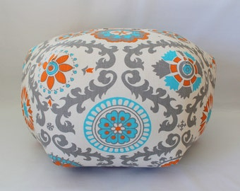 Rosa pouf,  dorm decor, ottoman, floor pillow, foot stool, floor cushion, dorm furniture, college gift, dorm room stool, pouf, custom