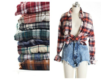 Oversize Flannels All Sizes
