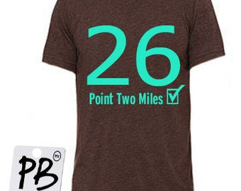 Marathon shirt - Running top - Running tshirts - Running tshirts  - gifts for him - gifts for dad - Gifts for brother - Running gifts - 26.2